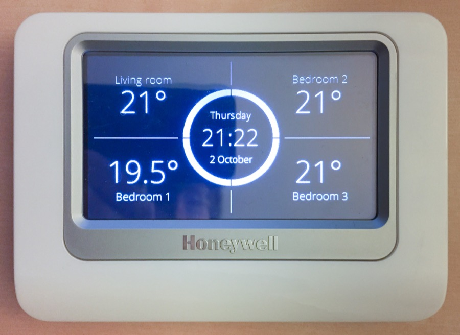 Temperature logging with Honeywell Total Connect Comfort